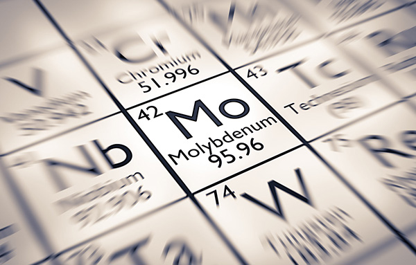 alliages molybdene metal rare-application mo tableau periodique